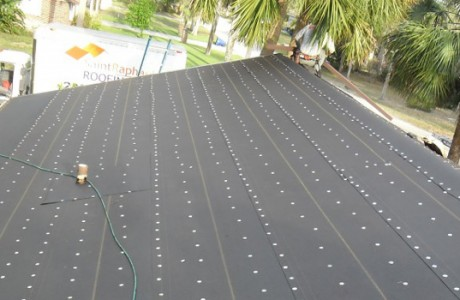 Felt Underlayment for Asphalt Shingle Application